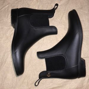 Michael Kors Rain Boots Blackout